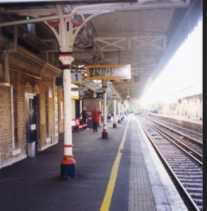 train station near Blackheath, where HTM and JSM lived after marrying