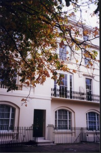 Kent Terrace, the house she and John Taylor shared